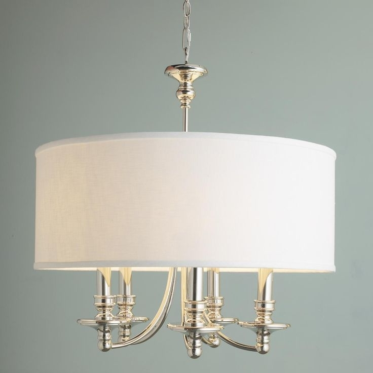 Most Up To Date 28 Best Shade Chandeliers Images On Pinterest (View 2 of 10)