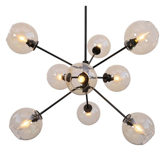 Most Up To Date Atom Chandeliers For Atom Pendant Lamp – Contemporary – Pendant Lighting  Ebpeters (View 7 of 10)