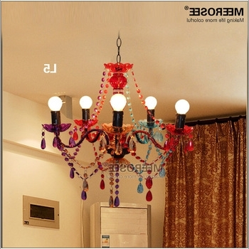 Most Up To Date Gypsy Chandelier Multicolored Kids Bedroom Chandelier Md2650 – Buy Pertaining To Multi Colored Gypsy Chandeliers (View 4 of 10)