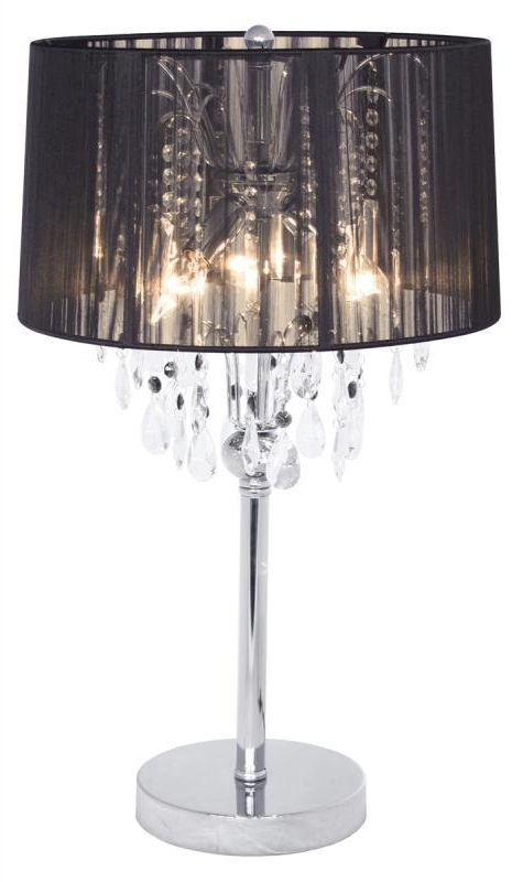 Mulberry Moon In Faux Crystal Chandelier Table Lamps (View 7 of 10)