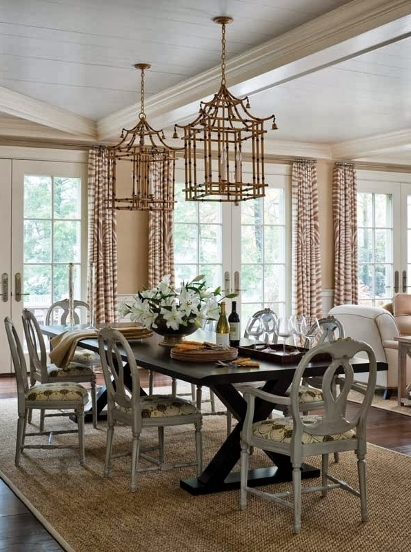 Newest Dining Room Chandeliers – Dining Room Sets For Chinoiserie Chandeliers (Gallery 8 of 10)