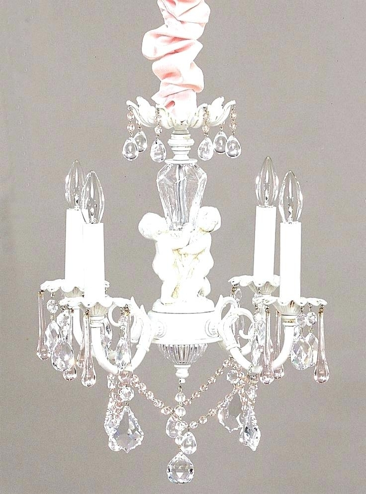 Newest Mini Chandeliers For Nursery For Small Chandelier For Nursery Shabby Chic Mini Chandelier With Best (View 10 of 10)