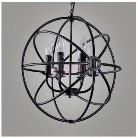 Newest Rh Foucault's Orb Chandelier Designrestoration Hardware – A In Orb Chandelier (View 6 of 10)