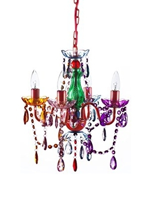 Newest The Original Gypsy Color 4 Light Small Gypsy Chandelier For H  (View 10 of 10)