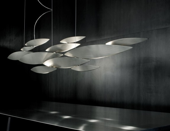 Newest Ultra Modern Chandeliers Inside Modern Designer Italian Lighting & Fine Murano Chandeliers: Nella (View 1 of 10)