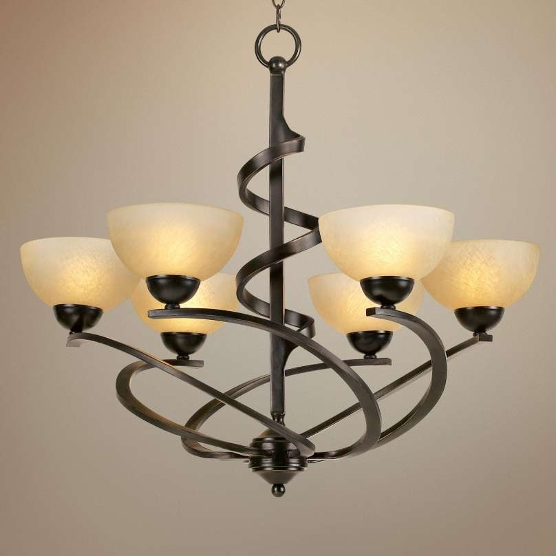 Oil Rubbed Bronze Chandelier Lighting Images (View 7 of 10)
