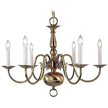 Old Brass Chandeliers Pertaining To Popular Antique Brass Chandeliers (Gallery 9 of 10)