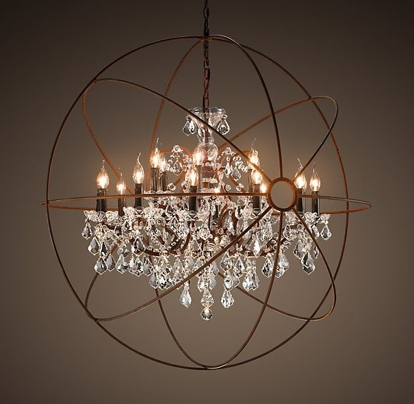Orb Chandelier Best Lighting Option For You – Bellissimainteriors With Regard To 2018 Orb Chandelier (View 7 of 10)