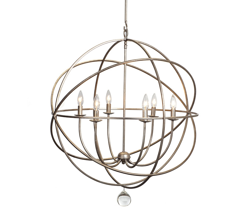 Orb Chandeliers Regarding Widely Used Chandelier Astonishing Iron Orb Ideas Enchanting Intended For Modern (View 7 of 10)