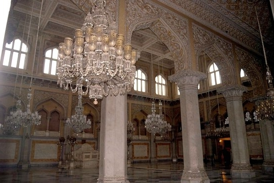 Ornate Chandeliers Intended For Current Khilwat Mubarak Ornate Chandeliers – Picture Of Chowmahalla Palace (View 6 of 10)