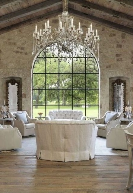 Oversized Chandeliers Within Preferred 30 Refined Glam Chandeliers To Make Any Space Chic – Digsdigs (View 8 of 10)