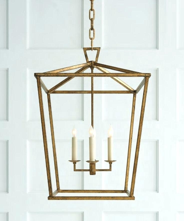 Pendant Light Lantern Elegant Gold Lantern Chandelier Gold Lantern Intended For Current Indoor Lantern Chandelier (View 8 of 10)