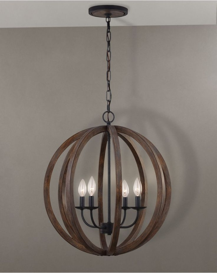 Pinterest Within 2017 Wooden Chandeliers (View 4 of 10)