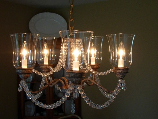 Popular Candle Look Chandeliers Within Candle Look Chandelier – Jeffreypeak (View 7 of 10)