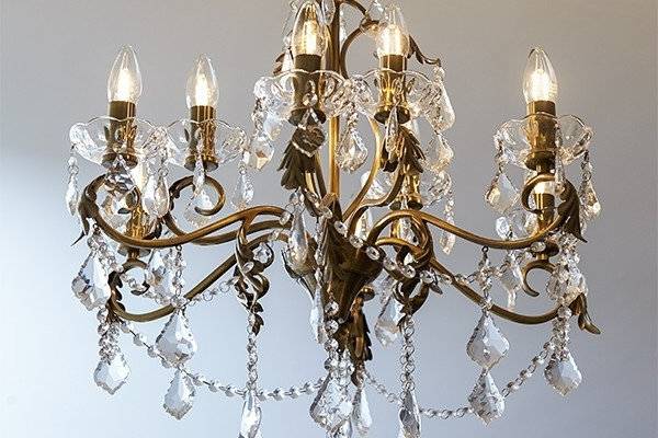 Popular Get The Traditional Chandelier Look With Led Filament Candle Bulbs Throughout Led Candle Chandeliers (View 9 of 10)