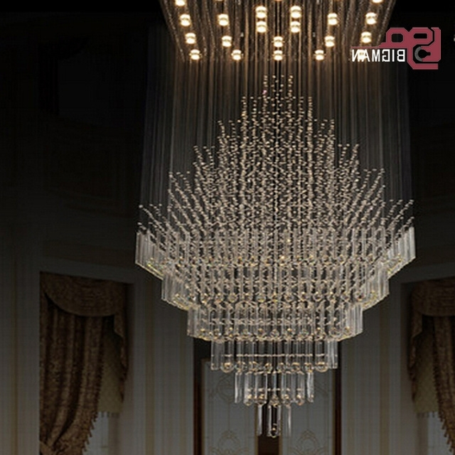 Popular New High Quality Large Modern Chandeliers Crystal Lamp Pendant Intended For Large Modern Chandeliers (View 8 of 10)