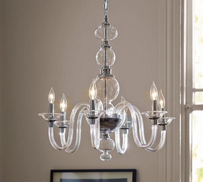 Popular Simple Glass Chandelier Pertaining To Simple Glass Chandelier – Chandelier Designs (View 4 of 10)