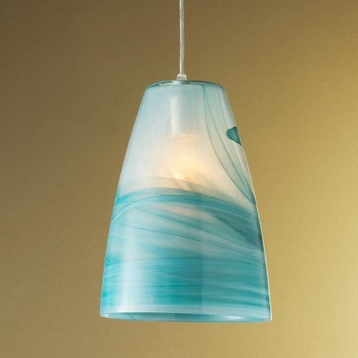 Popular Turquoise Pendant Light (View 5 of 10)