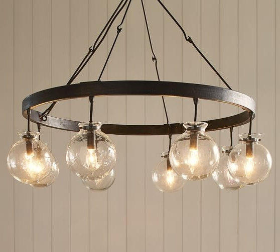 Pottery Barn Throughout Globe Chandeliers (View 2 of 10)
