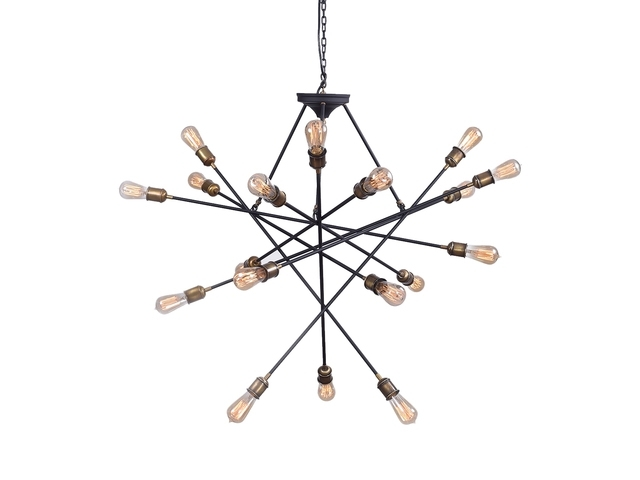 Preferred Atom Chandelier – Schwung Home – Maison&objet Paris (View 7 of 10)
