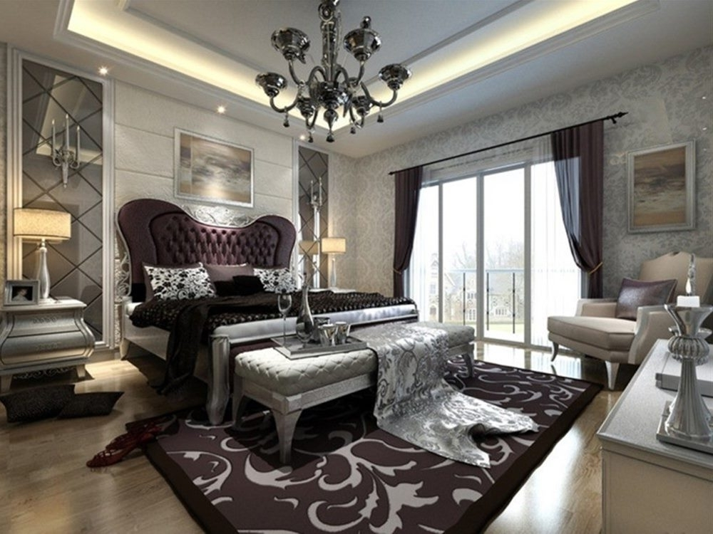 Preferred Black Chandelier Bedroom Intended For Black Chandelier For Luxury Interior Lighting Idea (View 6 of 10)