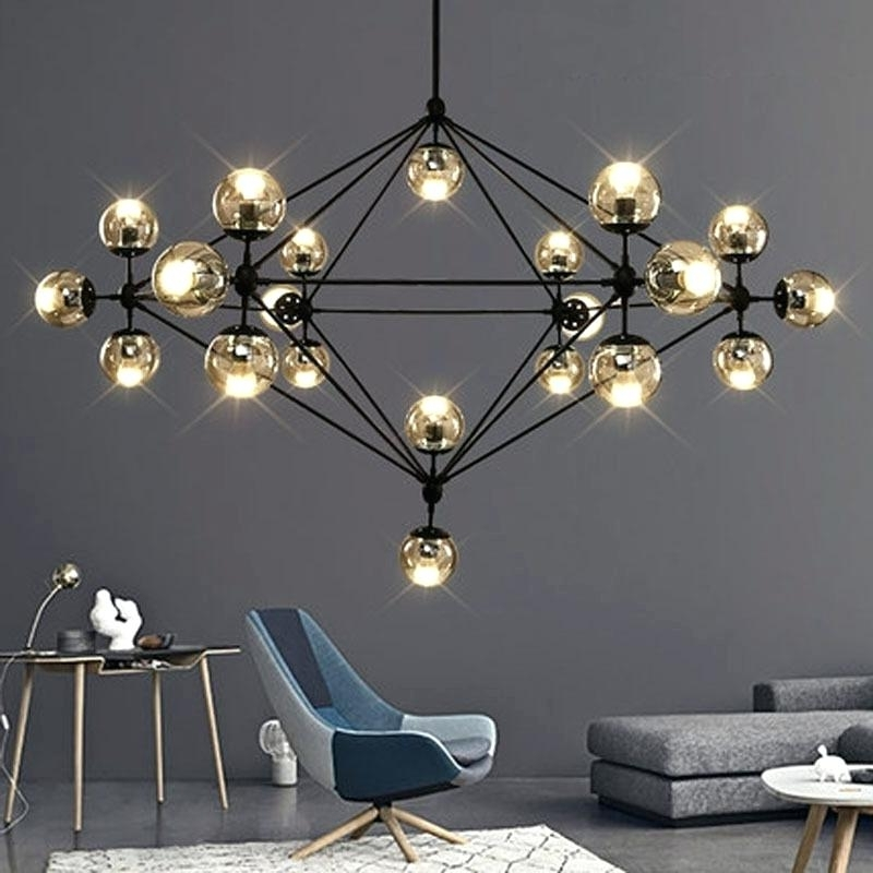 Preferred Chandelier For Restaurant In Chandelier For Restaurant And Heads Modern Glass Chandeliers (View 8 of 10)