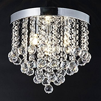Preferred Chandelier Lights Regarding Zeefo Crystal Chandelier, Modern Chandeliers Crystal Ball Light (View 8 of 10)