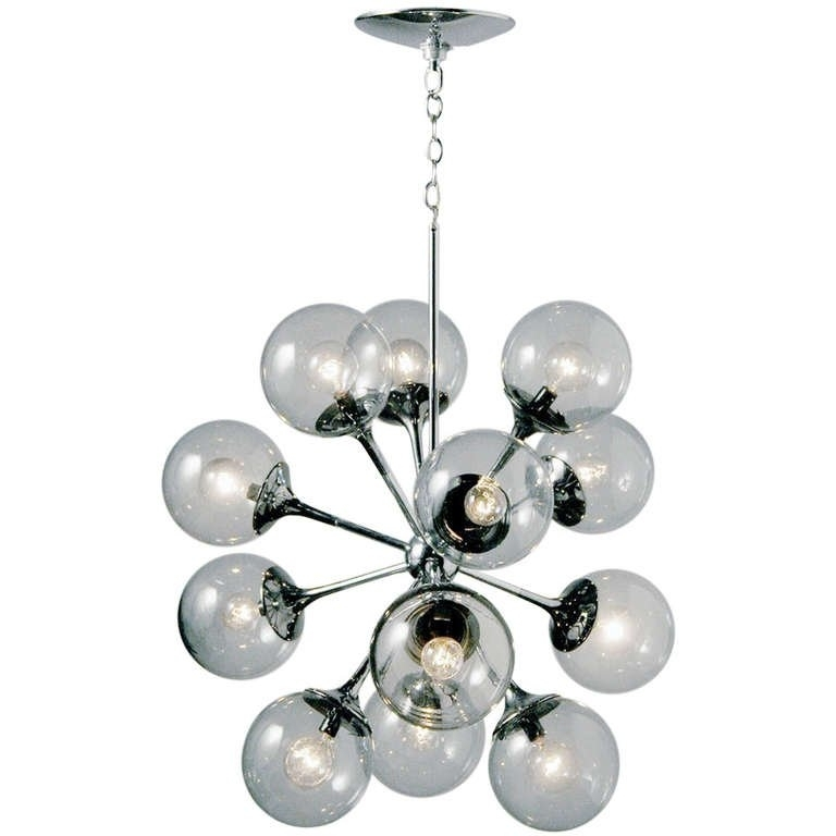 Preferred Chrome Sputnik Chandeliers Within Vintage Chrome Sputnik Chandelier At 1Stdibs (View 8 of 10)
