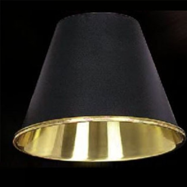 "Preferred Clip On Chandelier Lamp Shades In 5 3/8"" Black Metal Chandelier Clip On Lamp Shade Lcp (View 8 of 10)"