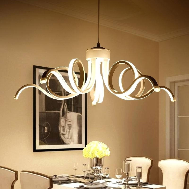 Preferred Dining Room Contemporary Chandelier Lighting : Contemporary With Regard To Contemporary Chandelier (View 8 of 10)