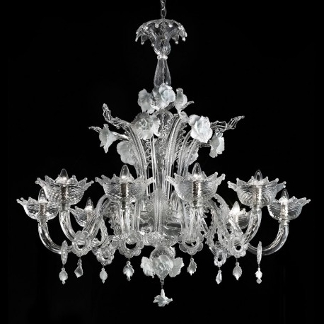 "Preferred Glass Chandelier Inside Artico"" Murano Glass Chandelier – Murano Glass Chandeliers (View 5 of 10)"
