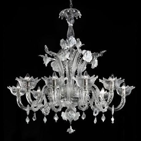 """Preferred Glass Chandelier Inside Artico"""" Murano Glass Chandelier – Murano Glass Chandeliers (View 6 of 10)"""