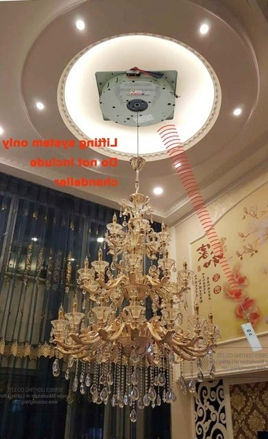 Preferred Remote Controlled Chandelier Within Auto Remote Controlled Chandelier Winches Chandelier Lift Chandelier (View 6 of 10)