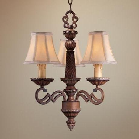 Preferred Short Chandelier Lights Regarding Mini Chandelier Lamp Shades Black Rooster – Schwubs (View 10 of 10)