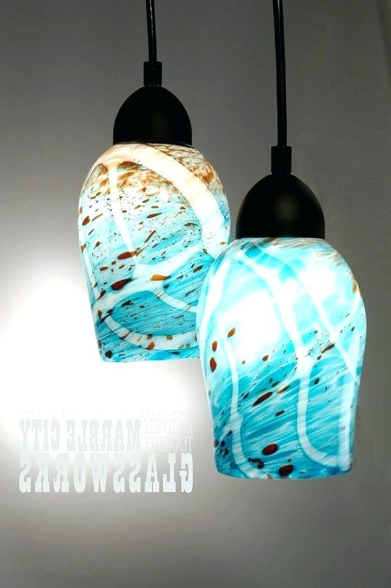 Preferred Turquoise Pendant Chandeliers With Regard To Turquoise Glass Pendant Lights Turquoise Pendant Light Art Gallery (View 6 of 10)