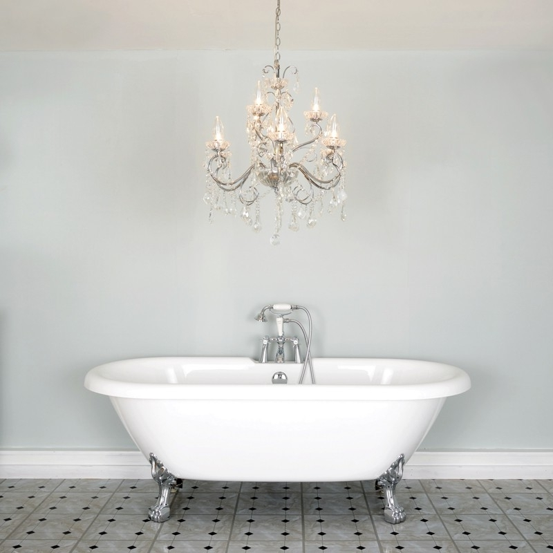 Preferred Vela 9 Light Chandelier – Lighting Direct Within Bathroom Chandelier Wall Lights (View 10 of 10)