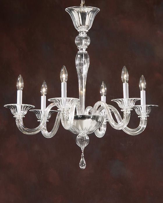 Preferred Venetian Glass Chandeliers From Murano, Italy; Murano Glass Inside Glass Chandeliers (View 5 of 10)