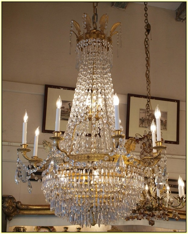 Preferred Vintage French Chandeliers With Home Design : Cute Vintage French Chandelier Brass Home Design (View 5 of 10)