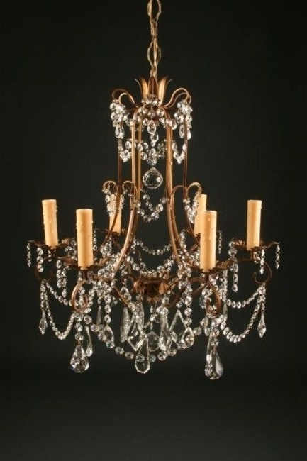 Preferred Vintage Italian Chandelier Regarding Antique Lighting Legacy Antiques Italian Chandelier Vintage Gilded (View 6 of 10)