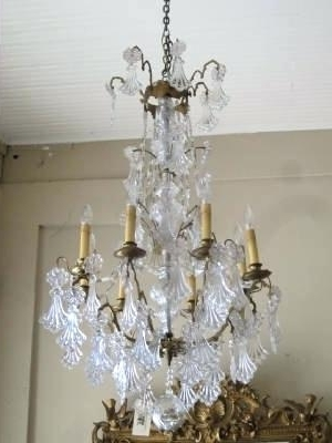 Recent Antique Empire Chandelier Antique French Empire Crystal Chandelier For French Crystal Chandeliers (View 8 of 10)