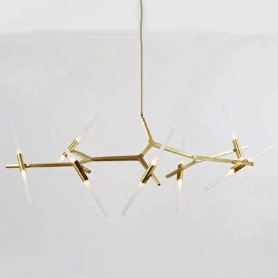 Featured Photo of Gold Modern Chandelier