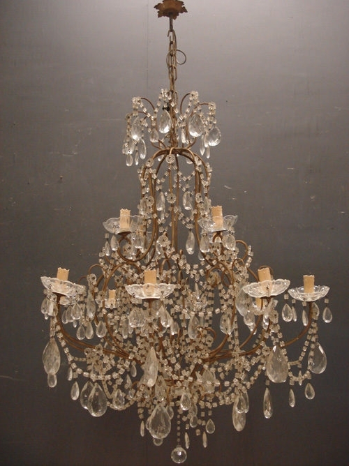 Recent Italian Chandeliers Within Antiques Atlas – Italian Chandelier (View 7 of 10)