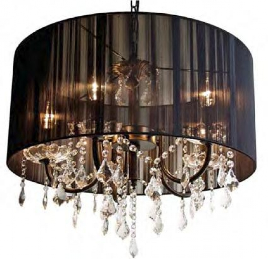 Recent Lamp Shades For Chandeliers Multiple Chandelier Fabric Shade Glass Pertaining To Chandelier Light Shades (View 8 of 10)