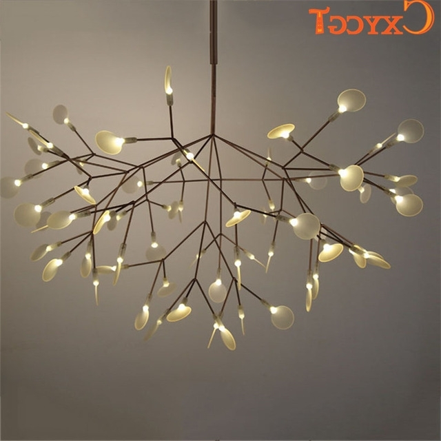 Recent White Tree Branches Chandeliers Modern Suspension Hanging Light With Regard To Branch Chandeliers (View 8 of 10)