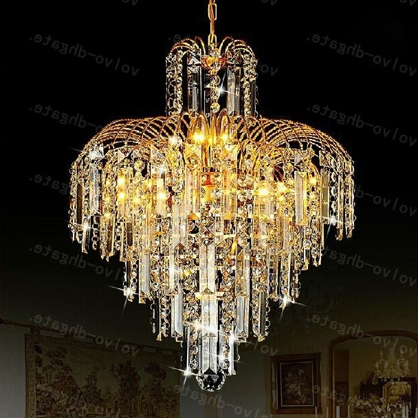 Restaurant Chandelier With Recent Lalf441 Luxury Restaurant Chandelier Crystal Lamp Living Room (View 8 of 10)