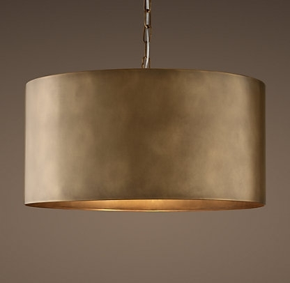 Restoration Hardware Within Well Known Metal Drum Chandeliers (View 8 of 10)