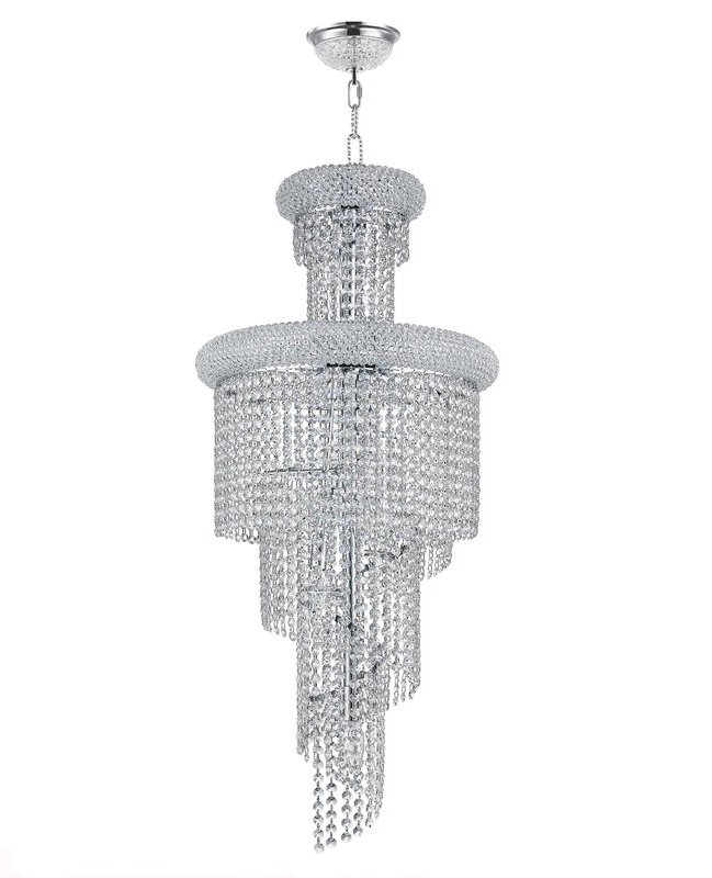 Rosdorf Park Brileys 3 Tier 10 Light Crystal Chandelier & Reviews For Most Popular 3 Tier Crystal Chandelier (View 10 of 10)