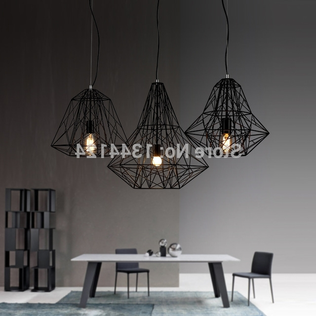 Scandinavian Chandeliers Pertaining To Best And Newest Wing Royal Scandinavian Retro Bar Iron Lamp Modern Minimalist (View 7 of 10)