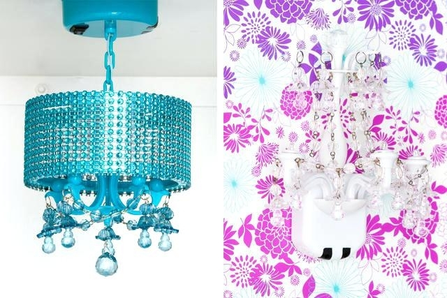 School Locker Chandeliers Glam It Up Girly Container Stories Throughout 2018 Turquoise Locker Chandeliers (View 7 of 10)