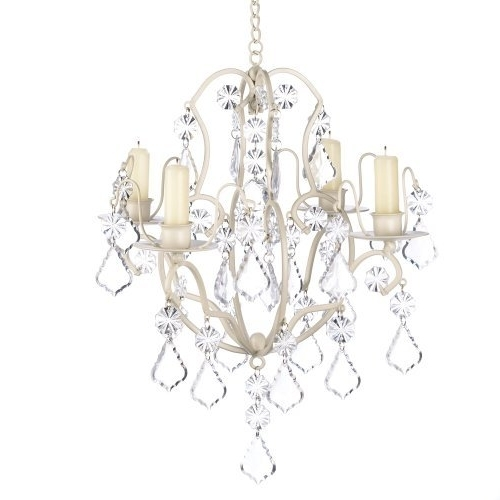 Shabby Chic Chandeliers For Widely Used Shabby Chic Chandelier: Amazon (View 7 of 10)